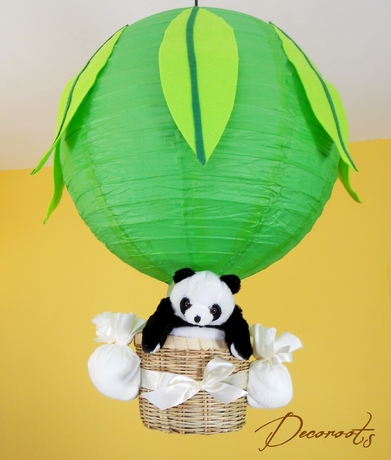 lampe lustre pampy le panda vert fresh. Black Bedroom Furniture Sets. Home Design Ideas