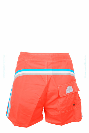 Sundek - Short de bain homme orange fluo