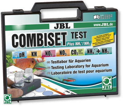 Jbl Combiset Plus Nh4 /Nh3 mallette tests analyse ph, nh4 /nh3, kh, no2, no3 et co2