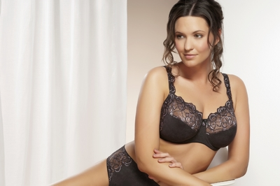 Soutien gorge haute gamme grande taille anthracite nathalie ulla
