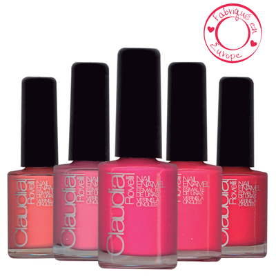Claudia rovelli vernis à ongles summer collection
