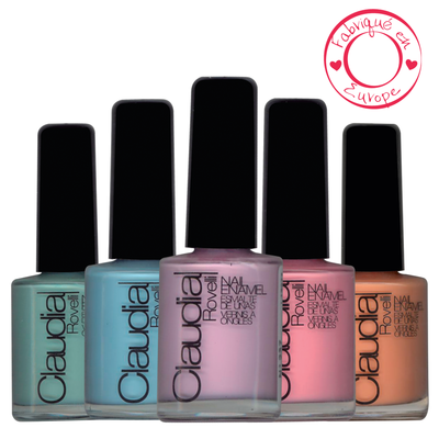 Claudia rovelli vernis à ongles pastel collection