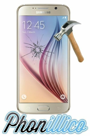 Film protection verre trempe pour galaxy s6
