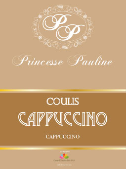 Coulis cappuccino - bouteille 1 kg