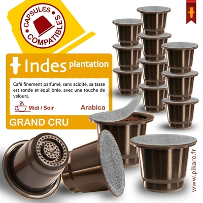 Capsules indes plantation aa