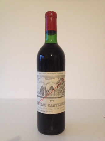 Ch. cantemerle 1970