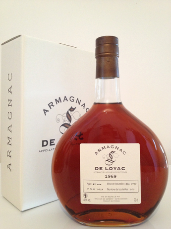 Armagnac de loyac 1969 70 cl